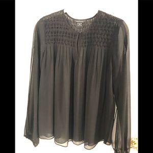 Moda chiffon blouse
